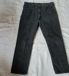 Levi's 505 black jeans